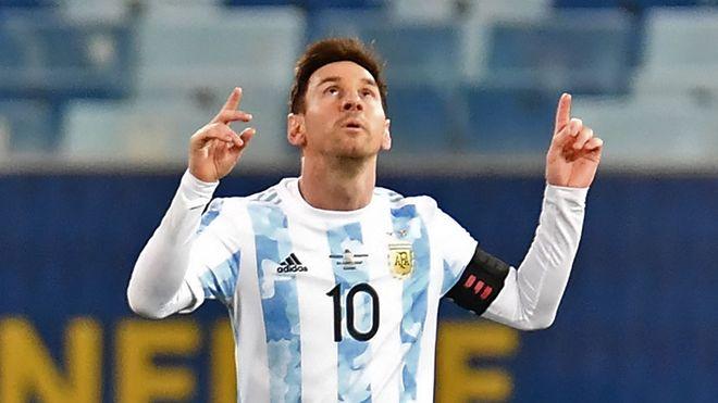 Messi y el lindo gesto que tuvo con un niño venezolano en Venezuela vs. Argentina
