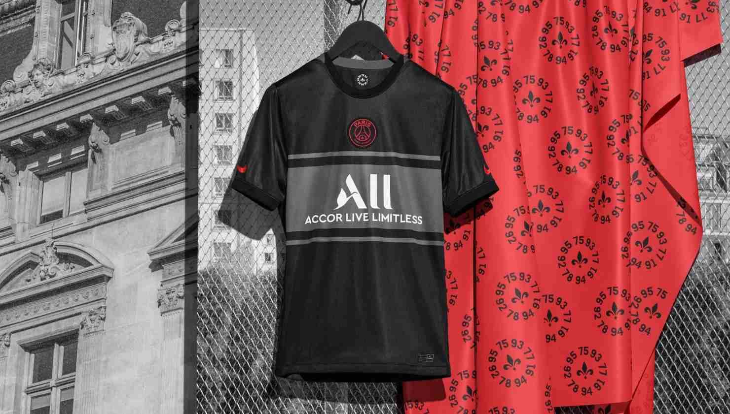 Nike presenta la tercera camiseta del PSG 21/22