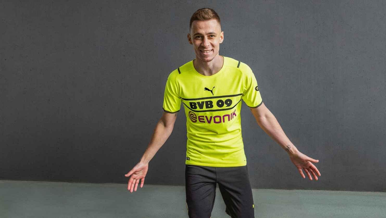 Tercera camiseta Puma del Borussia Dortmund 21/22