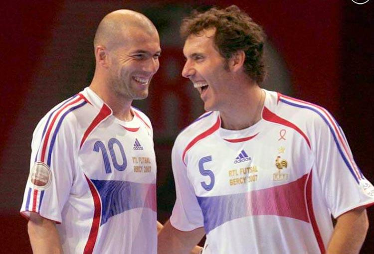 ¿Nuevo DT de James? Laurent Blanc, el amigo de Zidane que dirige a Al Rayyan