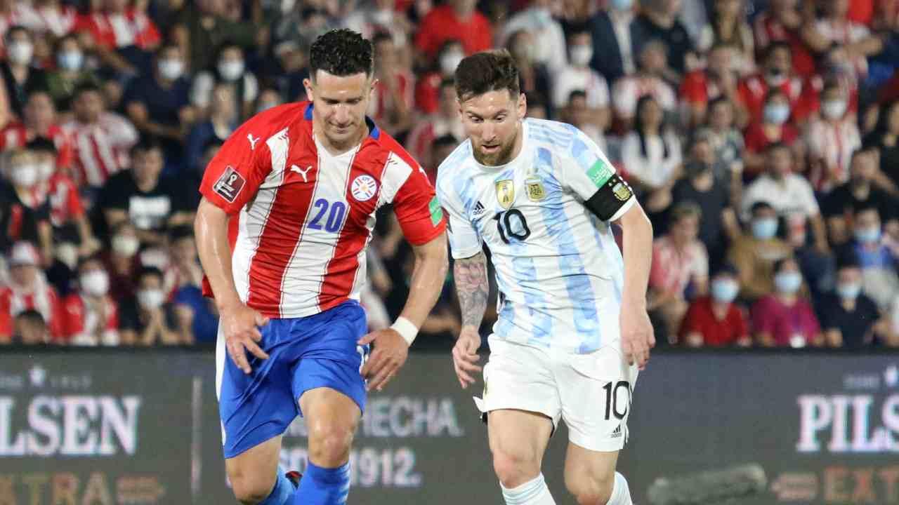 Argentina jugó para Colombia y le sacó un empate a Paraguay