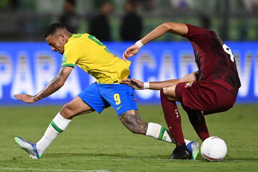 Así jugó Brasil contra Venezuela