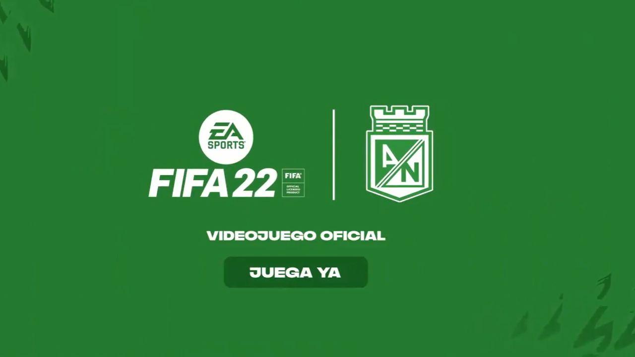 Atlético Nacional ahora es 'partner' de EA Sports para FIFA 22