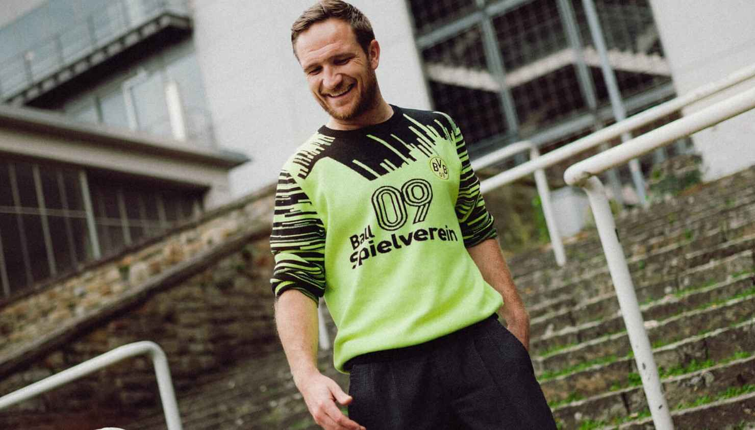Borussia Dortmund estrena suéter inspirado en los 90