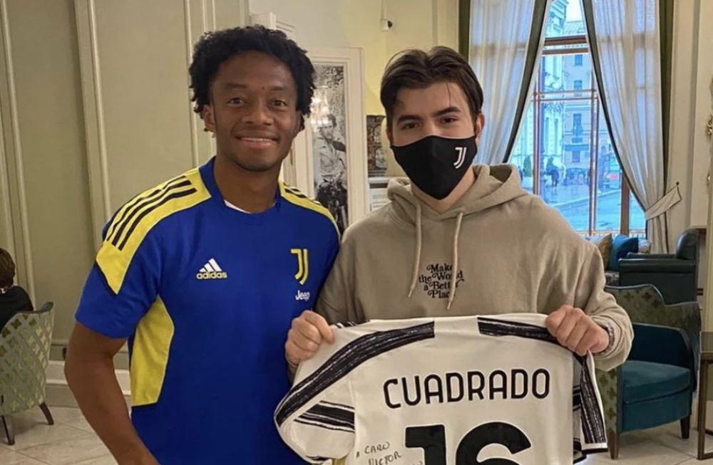 Juan Guillermo Cuadrado y el sueño que le cumplió a un hincha ruso de la Juventus