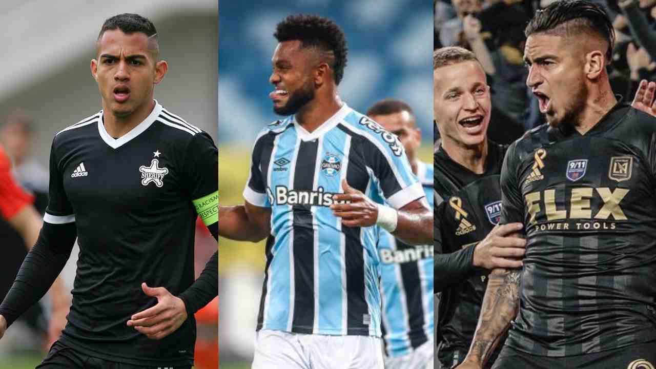Castañeda, Borja y Arango los máximos goleadores colombianos del 2021