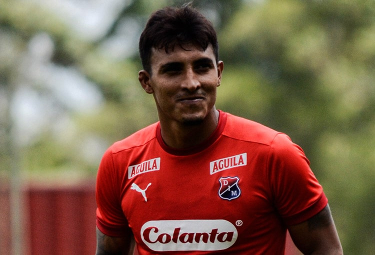 David Loaiza, Deportivo Independiente Medellín, DIM, DaleRojo, Liga BetPlay 2021-II, Atlético Bucaramanga