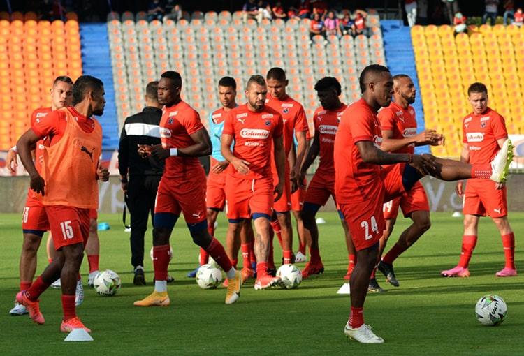 Deportivo Independiente Medellín, DIM, DaleRojo, Liga BetPlay 2021-II, Atlético Bucaramanga, convocados