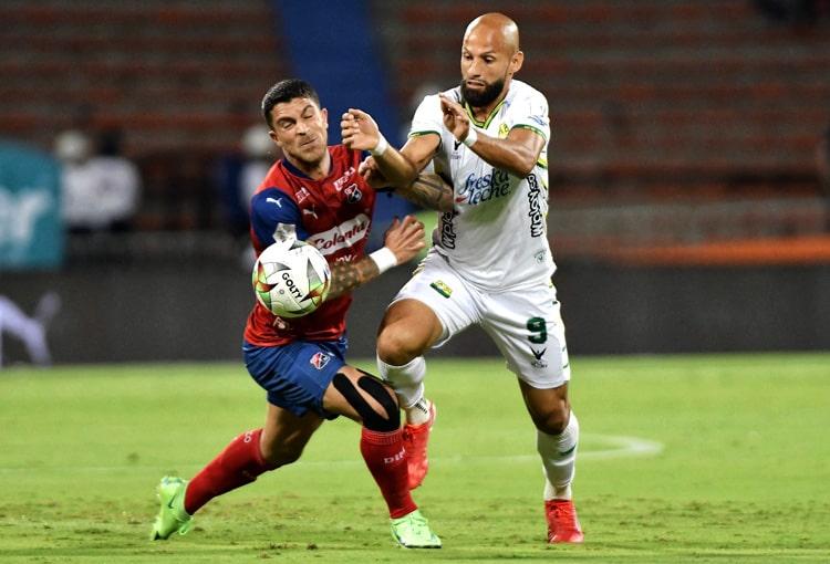Deportivo Independiente Medellín, DIM, DaleRojo, Liga BetPlay 2021-II, Atlético Bucaramanga, ficha técnica