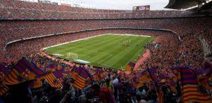 Estadios de Cataluña recibirán al 100% del público