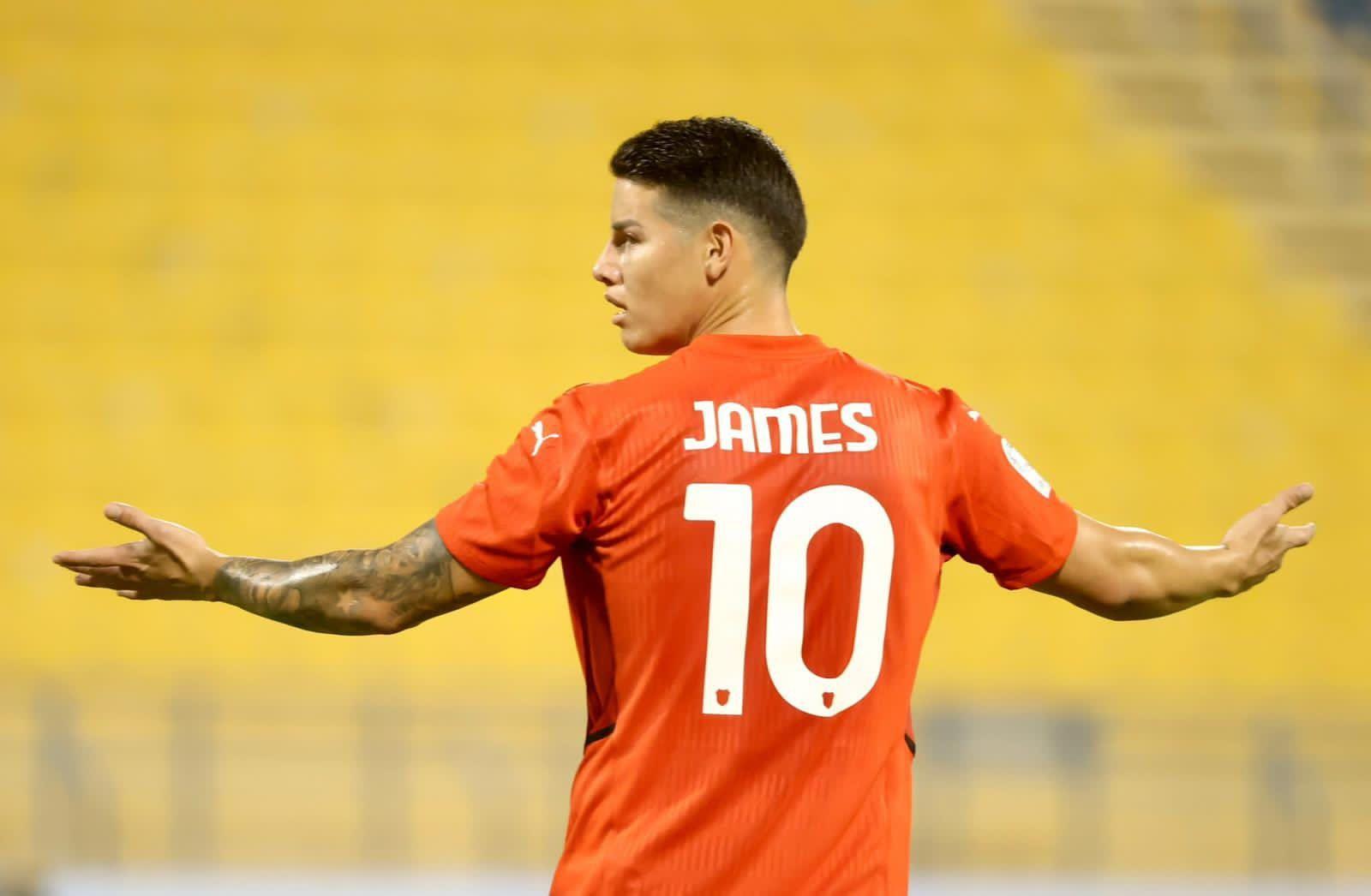 James, muy feliz por su primer gol en Catar: así celebró en redes sociales