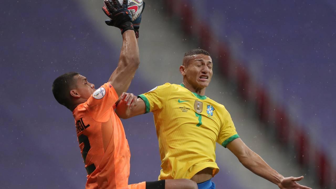 Joel Graterol volvió a la titularidad con la Selección de Venezuela