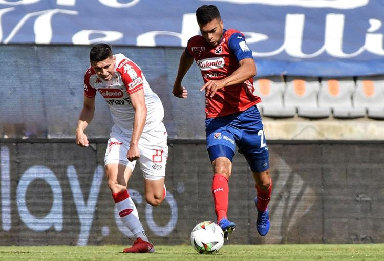 Juan Guillermo Arboleda, Deportivo Independiente Medellín, DIM, DaleRojo, Liga BetPlay 2021-II, Atlético Nacional