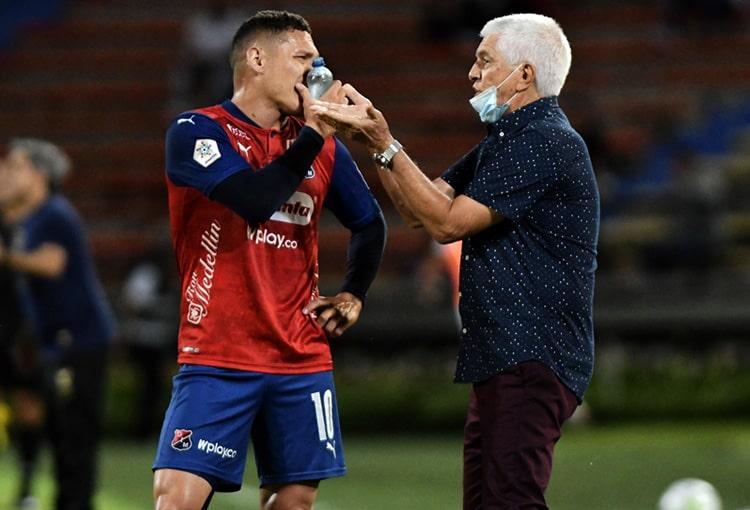 Julio Comesaña, Deportivo Independiente Medellín, DIM, DaleRojo, Liga BetPlay 2021-II, Envigado FC