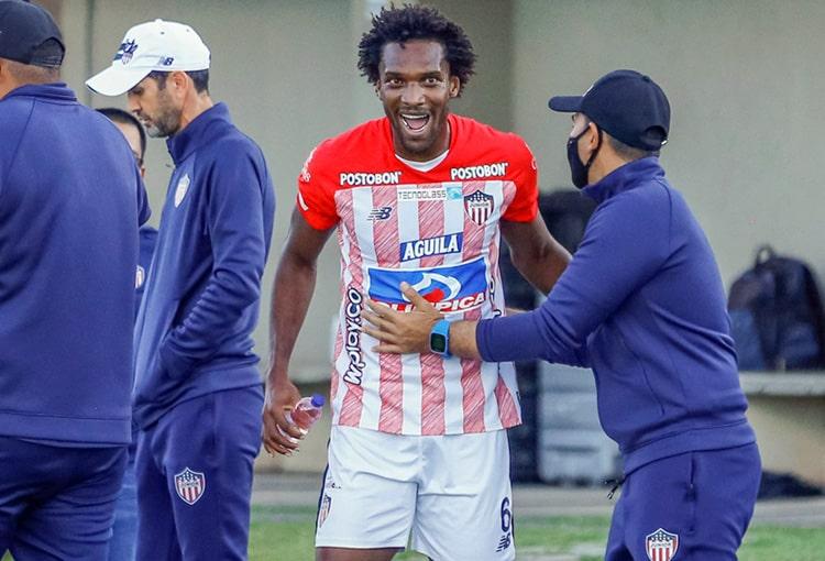 Junior FC, Patriotas Boyacá, Liga BetPlay 2021-II, titular