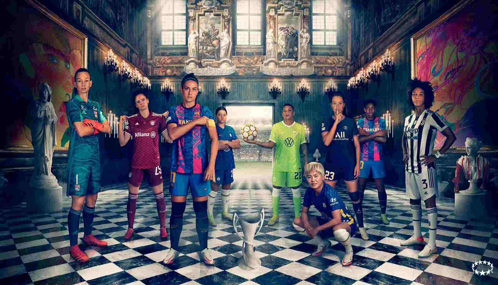 UEFA lanza nueva campaña antes de la Liga de Campeones Femenina