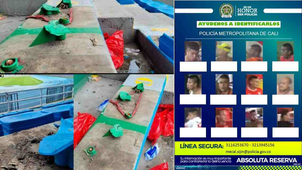 Los daños al Pascual Guerrero y los responsables que buscan en Cali