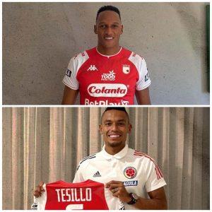 El regalo de Santa Fe para Mina y Tesillo en concentración de la Selección Colombia