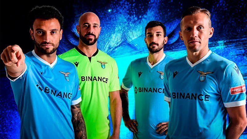 Marca de criptomonedas es el patrocinador de la Lazio