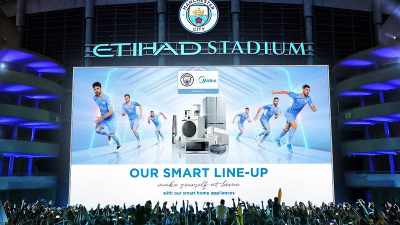 Midea vuelve a ampliar su asociación con el Manchester City