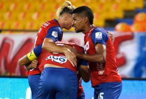 Miguel Camargo, Édgar Méndez, Deportivo Independiente Medellín, DIM, DaleRojo, Liga BetPlay 2021-II