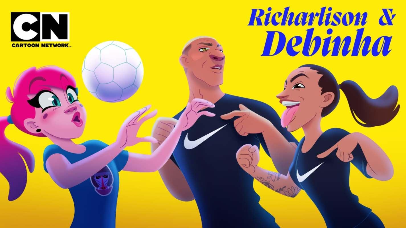 Nike y Warner Media convierten a Richarlison en una película animada