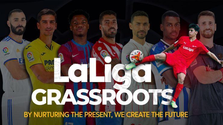 Proyecto de LaLiga para promover el fútbol base en todo el mundo