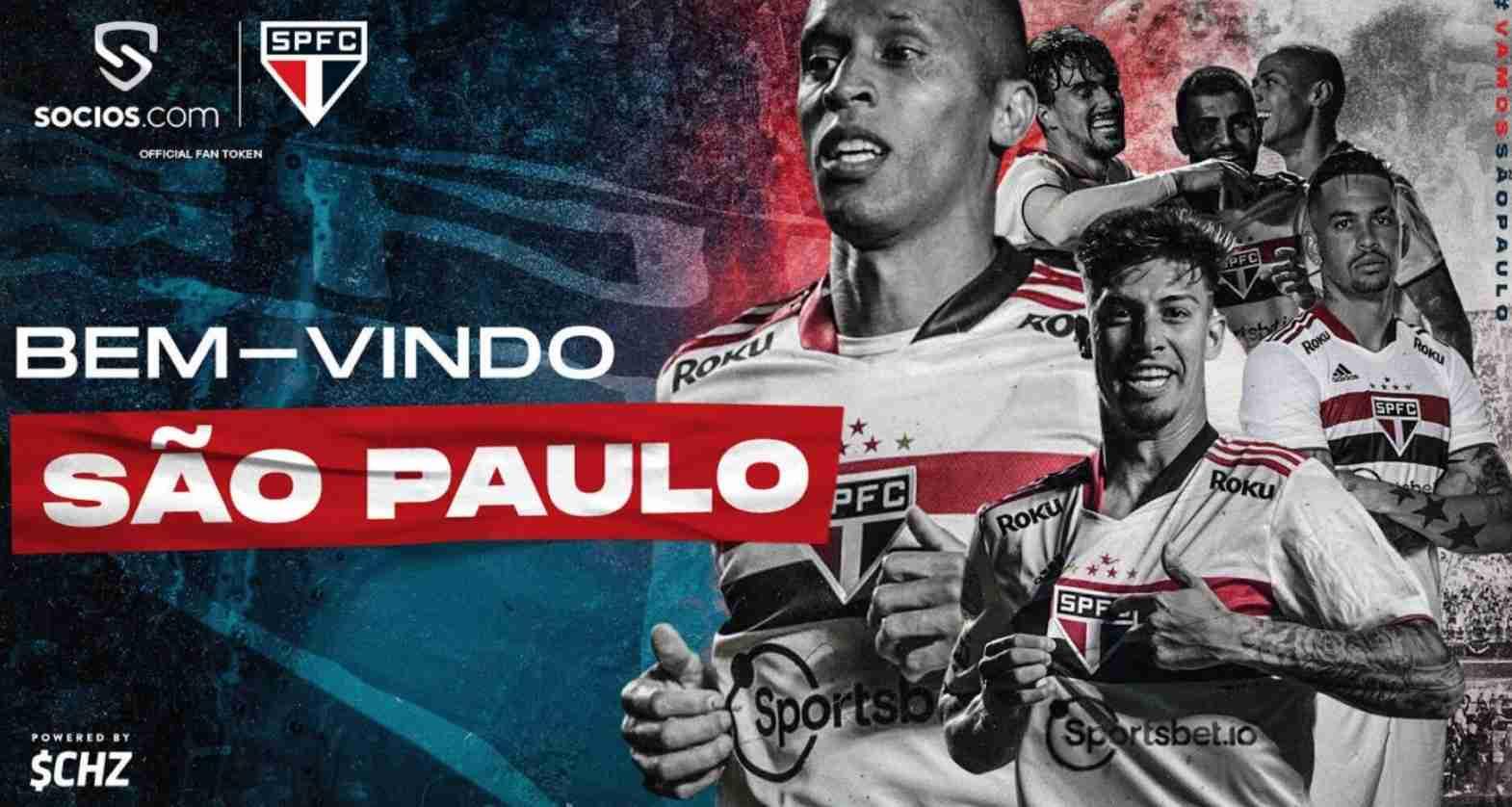 Sao Paulo firma acuerdo con Socios.com para su token oficial de fan