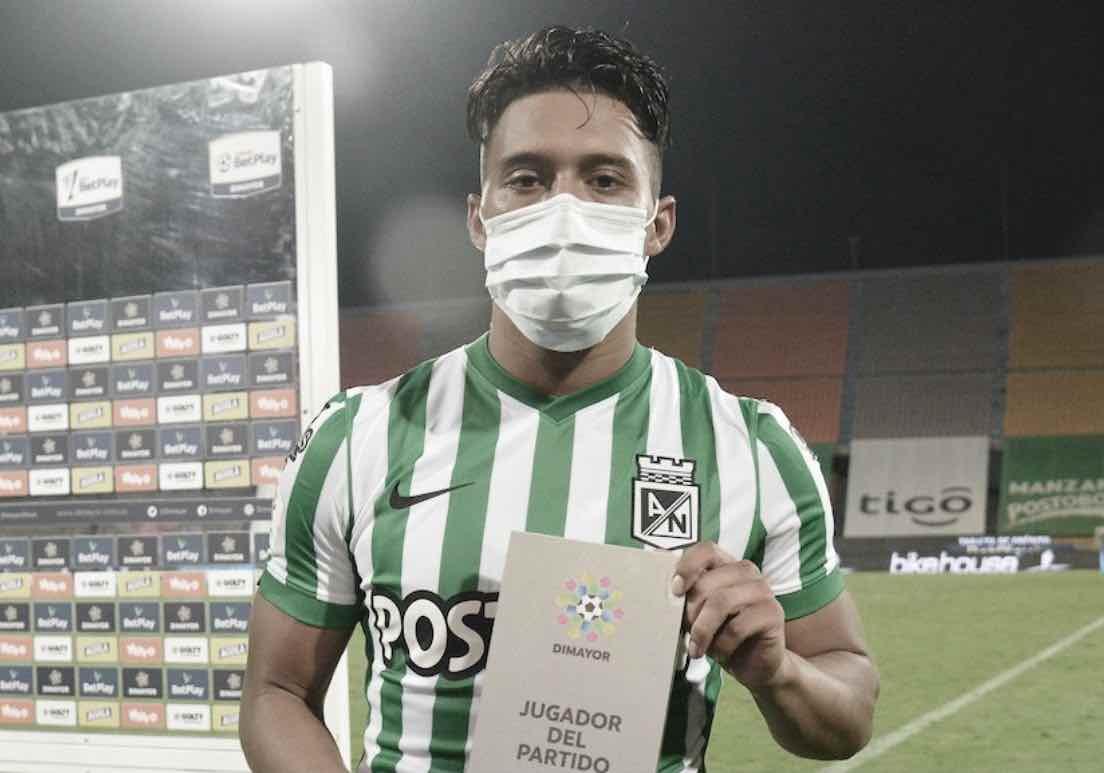 Sebastián Gómez evitó la polémica y se centró en analizar el clásico ante Independiente Medellín