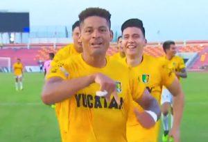 Ayron del Valle empezó a marcar en su nuevo reto en México