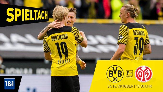 Ver en vivo Borussia Dortmund vs Mainz por la fecha 8 de la Bundesliga de Alemania
