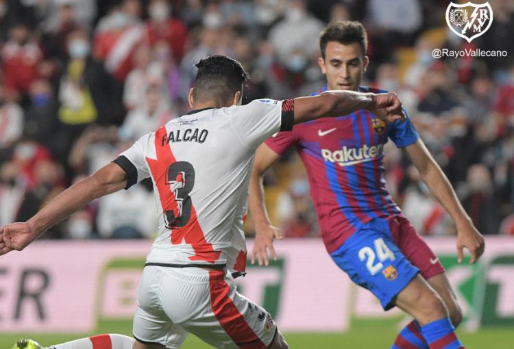 ¡Los 4 goles de Falcao al Barcelona en detalle!