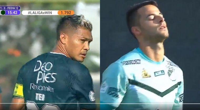 El blooper de Teo Gutiérrez en la derrota parcial del Deportivo Cali