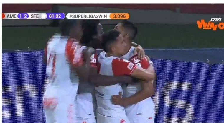 Gol de Jorge Ramos y Santa Fe se acerca un nuevo título en el fútbol colombiano