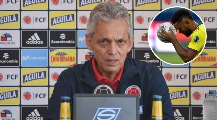 Selección Colombia: Rueda explicó las razones por la que no reemplazó a Borja