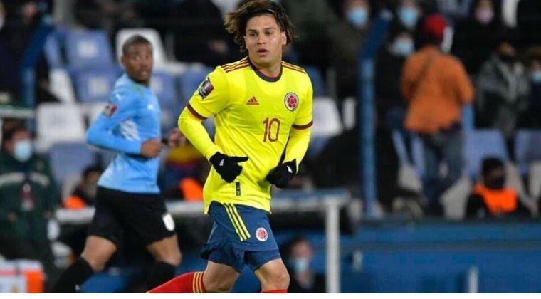 Reinaldo Rueda puso en duda la titularidad de Juanfer Quintero ante Brasil