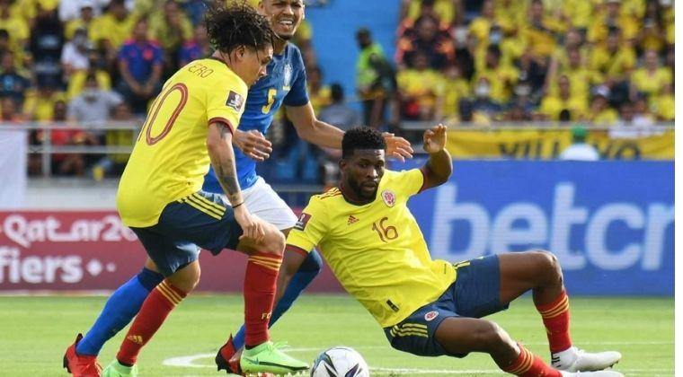 Tabla de posiciones de las Eliminatorias tras Colombia vs. Brasil