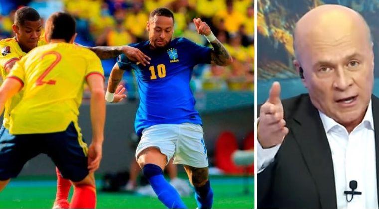 """Carlos Antonio Vélez y su """"decepción"""" con Colombia tras empatar con Brasil"""
