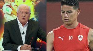 """Fernando Niembro y su comentario contra James Rodríguez: """"Es un jugador casi retirado"""""""