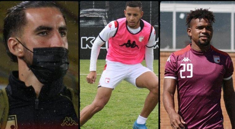 Santa Fe: los 10 jugadores que han sido borrados por Grigori Méndez