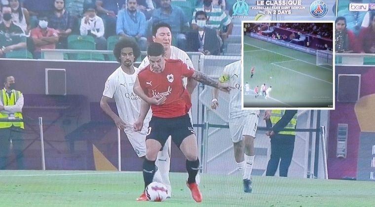 ¡Penalti para Al Rayyan y no cobró James Rodríguez!