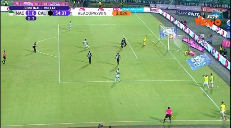 ¿Se debía anular el gol de Atlético Nacional?: ¡Otra acción polémica!