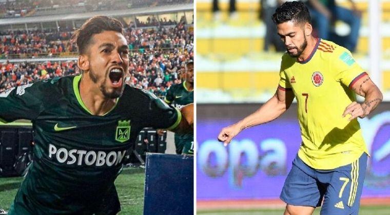 Rifle Andrade y su dolor de cabeza: ¿Selección Colombia o la final de Copa con Nacional?