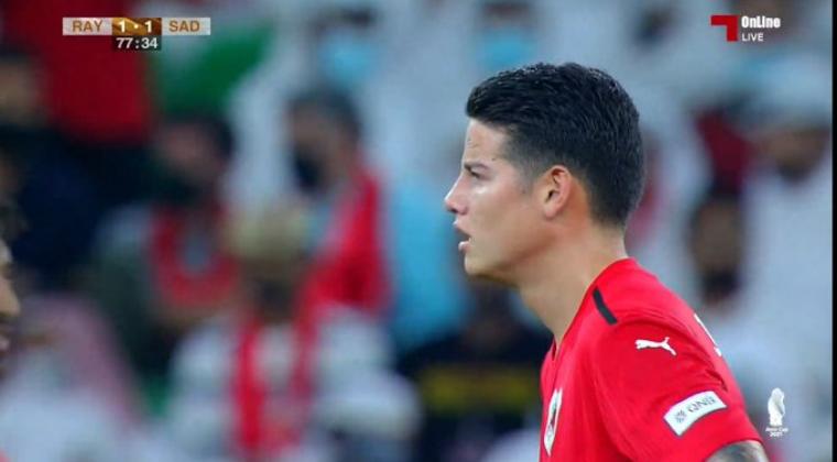 James Rodríguez no pudo celebrar con Al Rayyan: perdió la final ante Al Sadd
