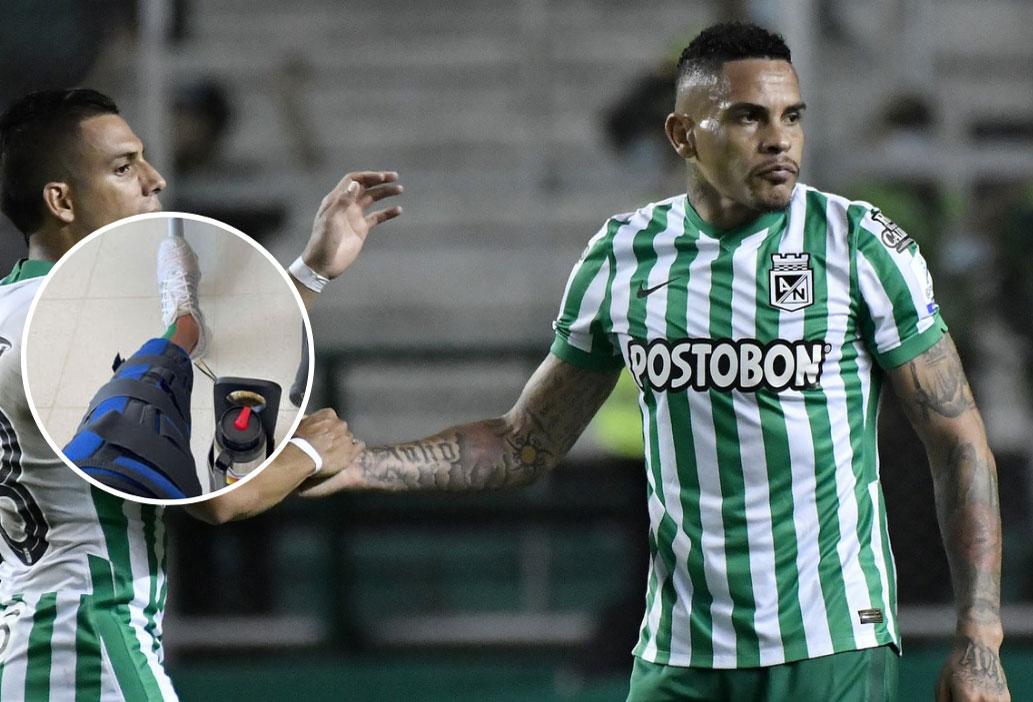 Foto y mensaje de Jonatan Álvez que preocupan al hincha de Atlético Nacional