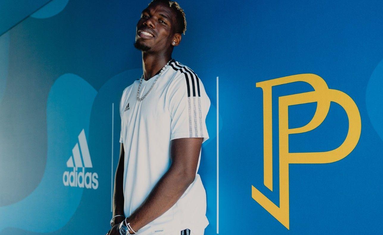 Paul Pogba 5 años con adidas