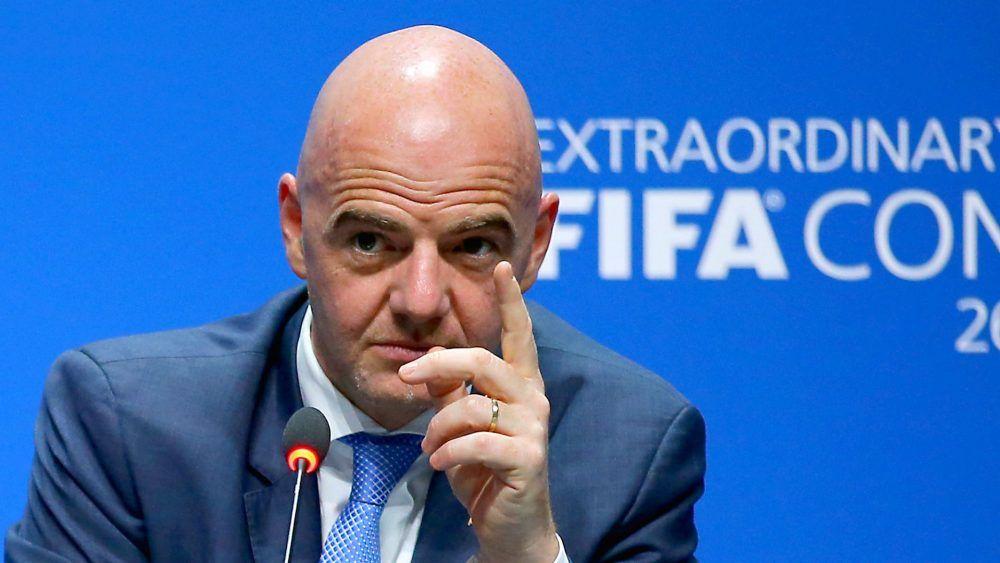 Reunión virtual en FIFA. Tema: Mundial cada 2 años