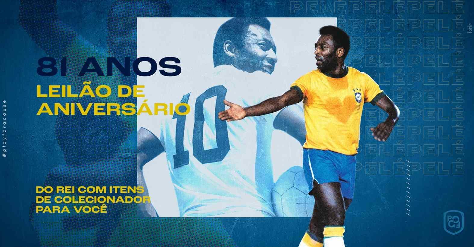 Play For a Cause promueve subastas en honor al Rey Pelé